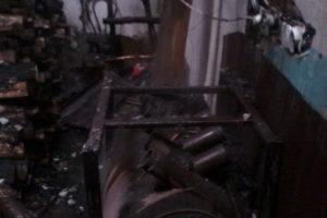 магазин пожар