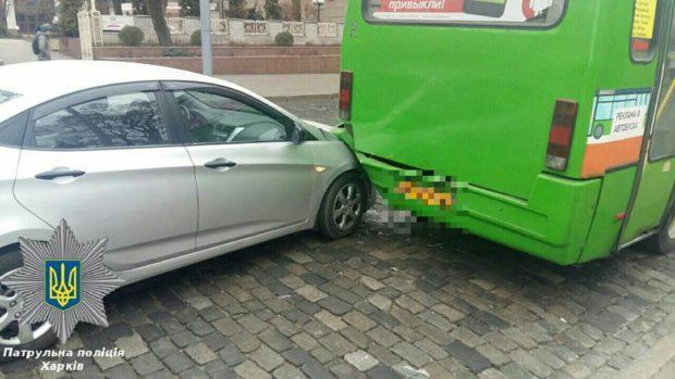 дтп авария маршрутка сумская