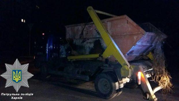 мусоровоз водитель пьяный