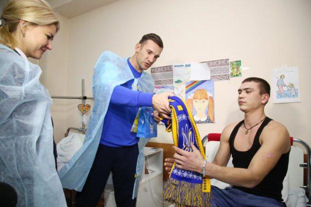 шевченко госпиталь бойцы