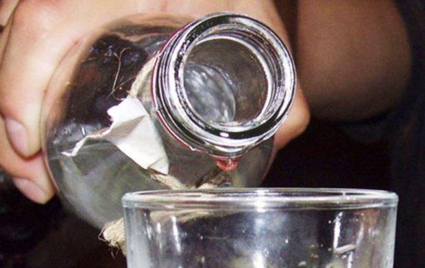 суррогат алкоголь отравление