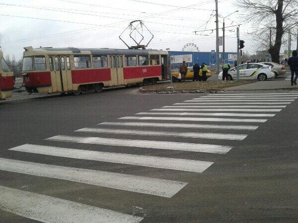 трамвай салтовка дтп авария