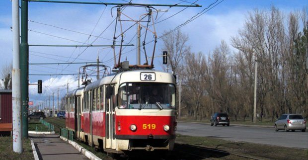 трамвай движение маршрут