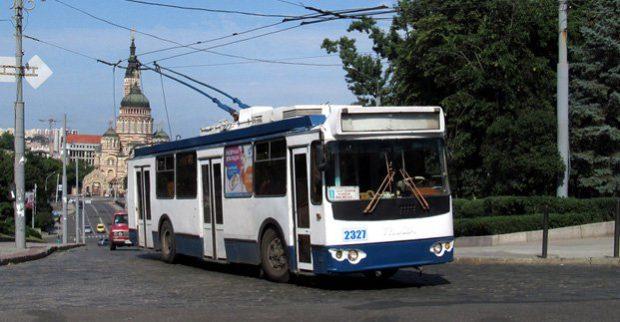 троллейбус маршрут