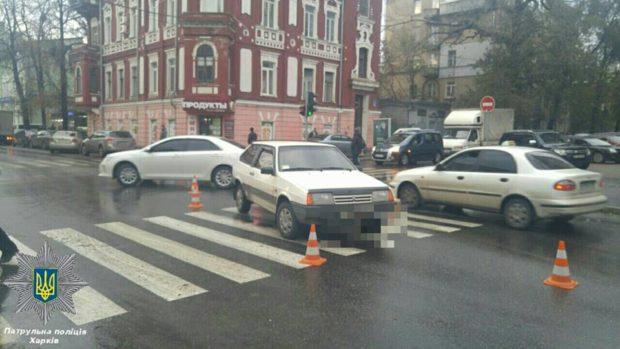 авария дтп центр Харьков пешеход