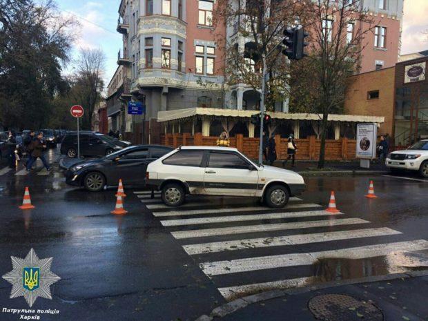 авария дтп пешеход