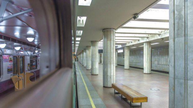 харьковская подземка метрополитен рельсы холодная гора