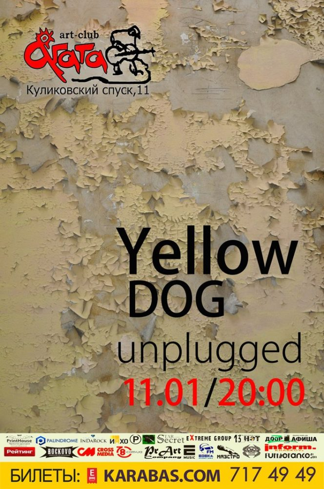 Yellow Dog (Unplugged) Харьков