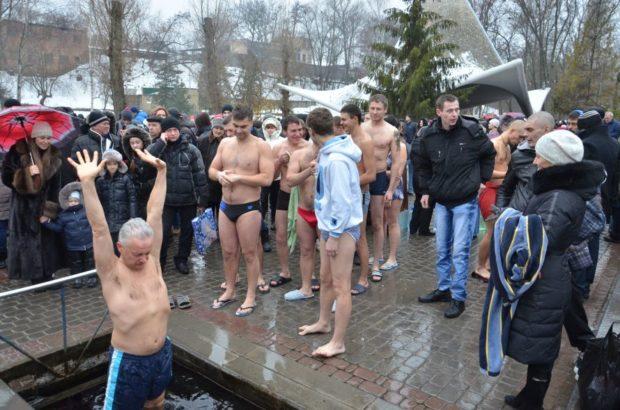 Для тех, кто решился: где в Харькове окунуться в прорубь на Крещение фото