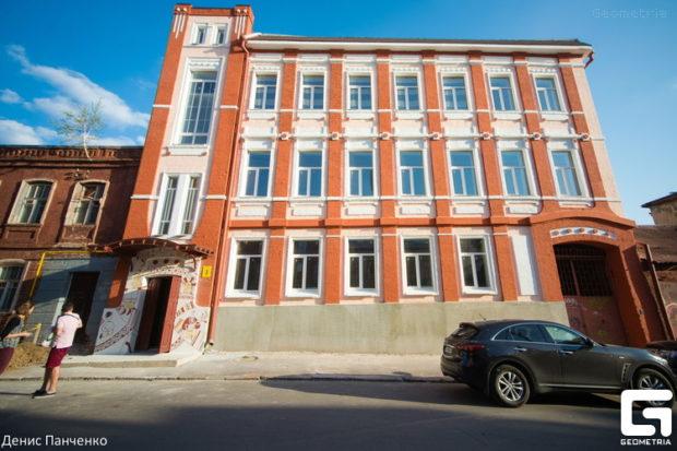 Здание по улице Девичьей 6 в Харькове