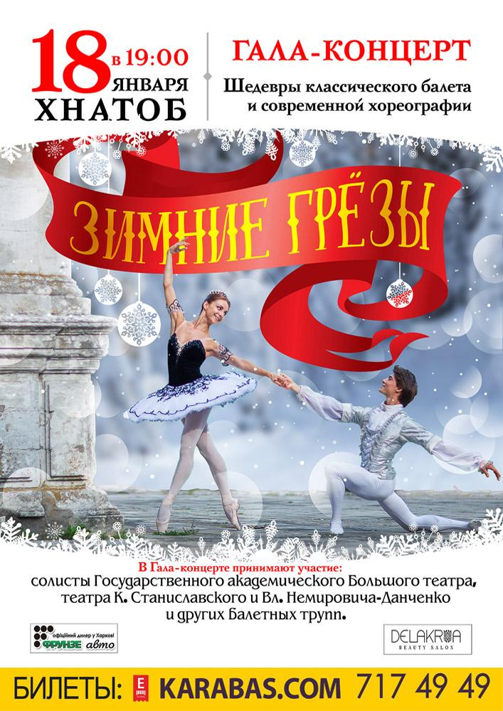Вечер балета. Гала-концерт «Зимние грезы» Харьков