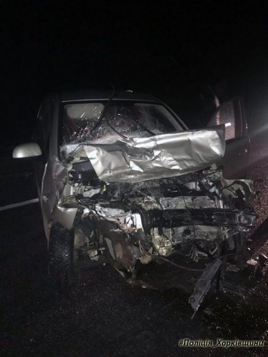 В результате аварии на Харьковщине пострадали семь человек (ФОТО)