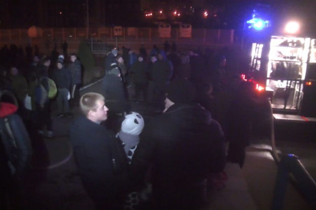 ВХарькове горело общежитие: ученик отравился угарным газом