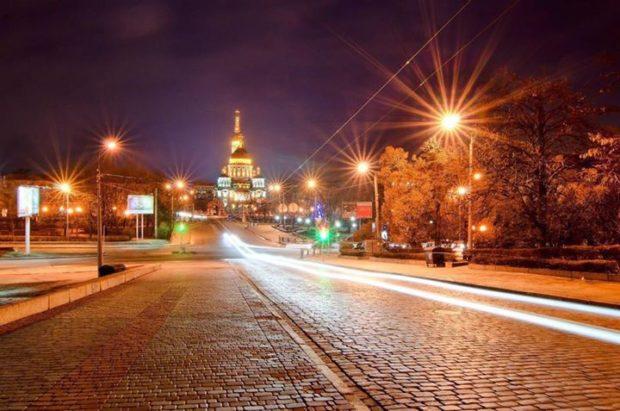 Харьков вечером