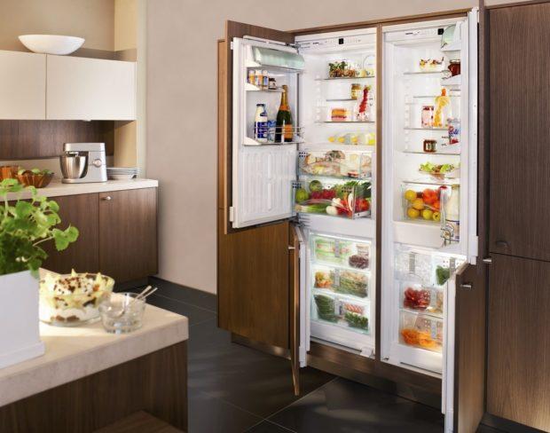 Особенности встраиваемых холодильников