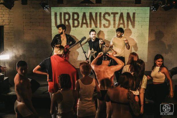 """Съемки клипа Urbanistan """"Целуешься"""""""