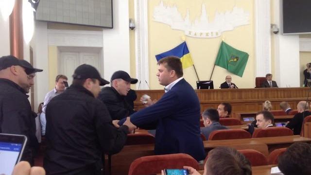 Инцидент с экс-депутатом Лесиком