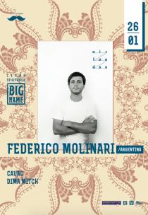 BIG NAME: Federico Molinar Харьков
