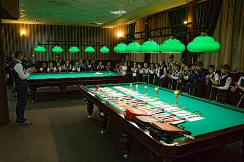 Детский чемпионат по бильярду в Morris