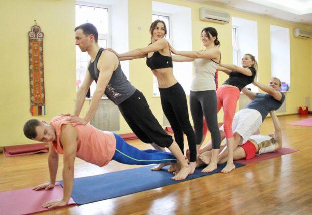 Школы йоги харьков