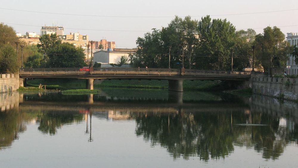 Мост через реку Харьков