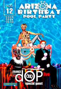 Arizona Birthday Pool Party: dOP live (France) Харьков