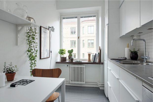 Интерьер кухни маленького размера