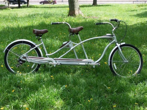 """Велосипед тандем в """"Велокоте"""""""