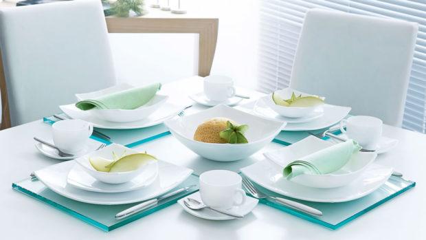 Выбор столовой посуды
