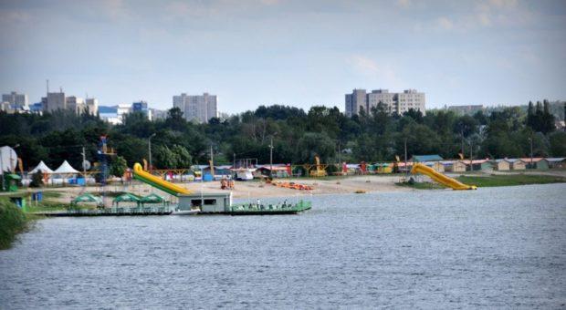 Пляж на Журавлевке