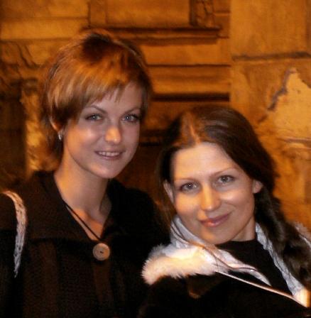 Ирина Потанина и Лада Лузина