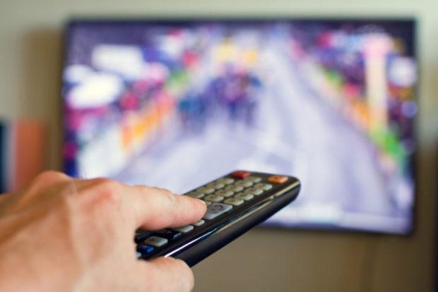 Телевиденье, пульт, TV