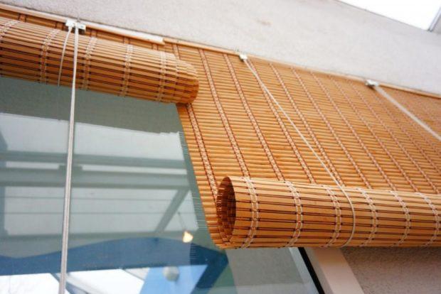 жалюзи бамбуковые рулонные
