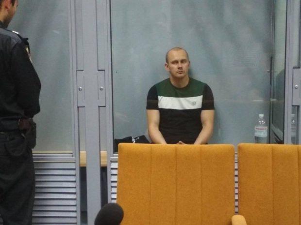 Олег Ширяев в суде