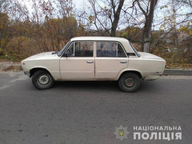 Под Харьковом пьяный парень проник во двор к соседу и угнал машину