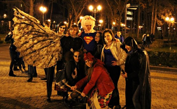 Хэллоуин в Парке Горького Харьков
