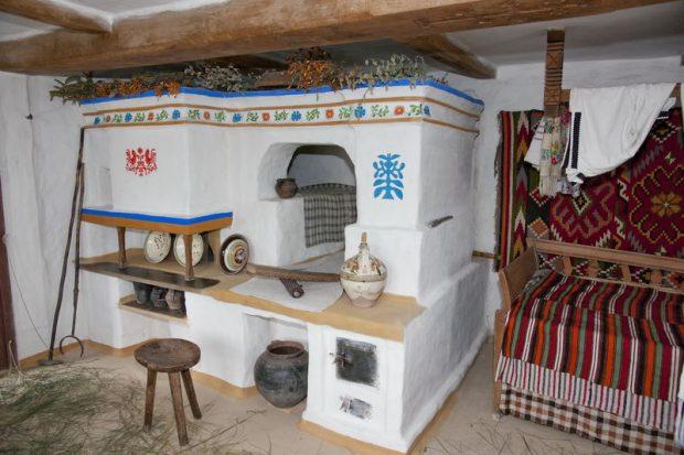 украинская печь