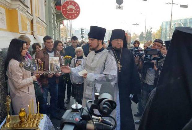 В Харькове помянули погибших в трагическом ДТП на Сумской
