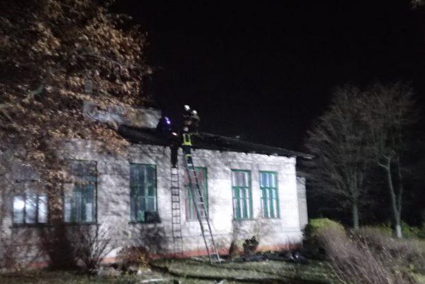 В Харькове горела городская больница №1