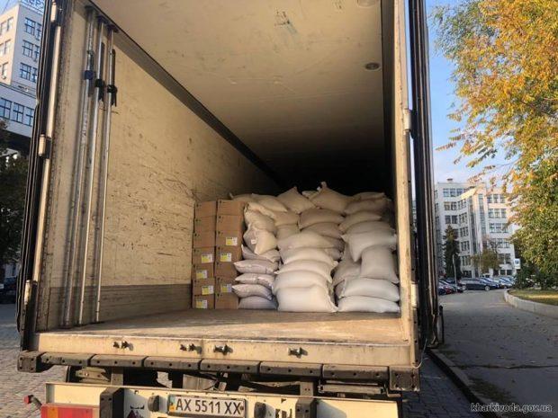 Харьковщина передала Черниговской области гуманитарную помощь