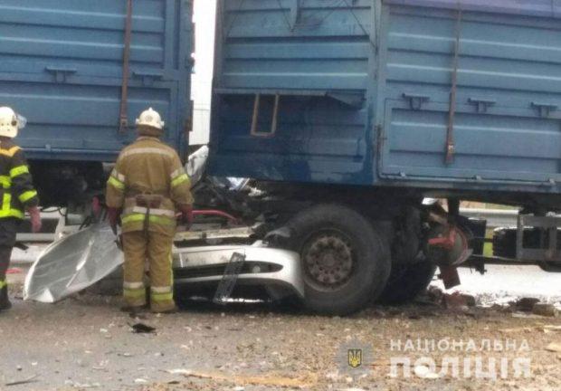 В автокатастрофе в Полтавской области погибла семья харьковчан
