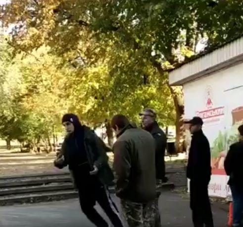 В Харькове призывников силой пытаются доставить в военкомат