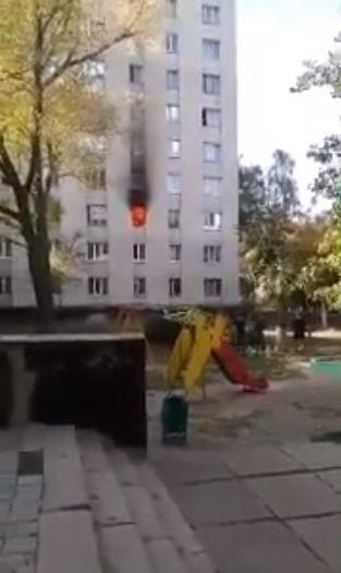 В Харькове горело студенческое общежитие аграрного университета: спасли 11 человек