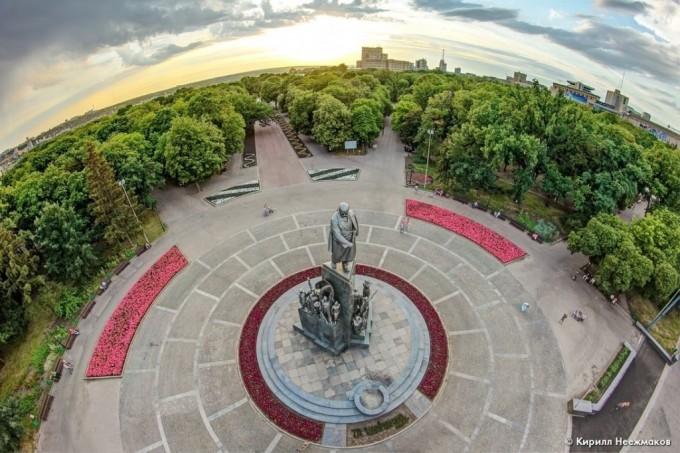 Сад имени Т. Г. Шевченко