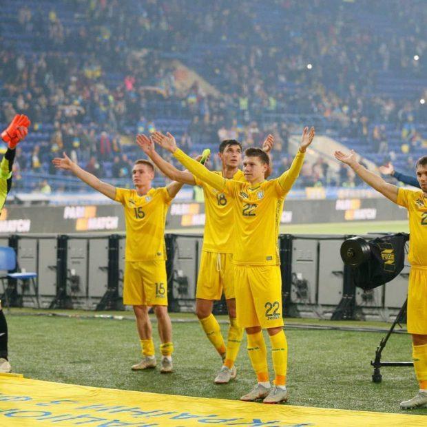 Сборная Украины в Харькове одолела чехов