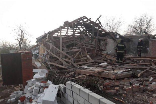 В жилом доме под Харьковом взорвался газ: есть пострадавшие