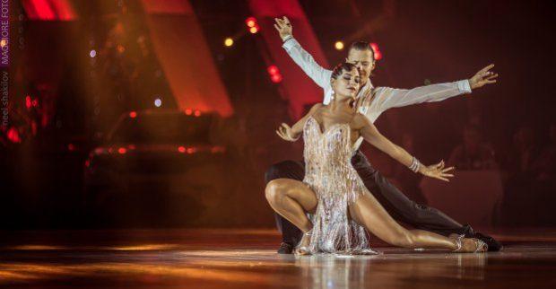 В Харькове прошел Международный фестиваль спортивного бального танца