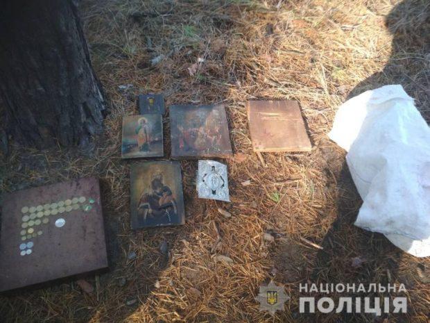 Под Харьковом обокрали церковный храм