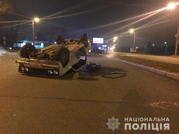 В Харькове в результате ДТП пострадали двое мужчин