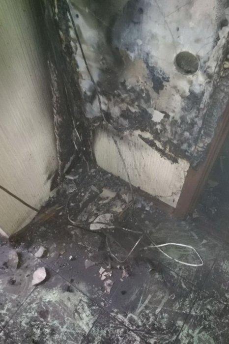 В Харькове на пожаре погибла женщина с инвалидностью